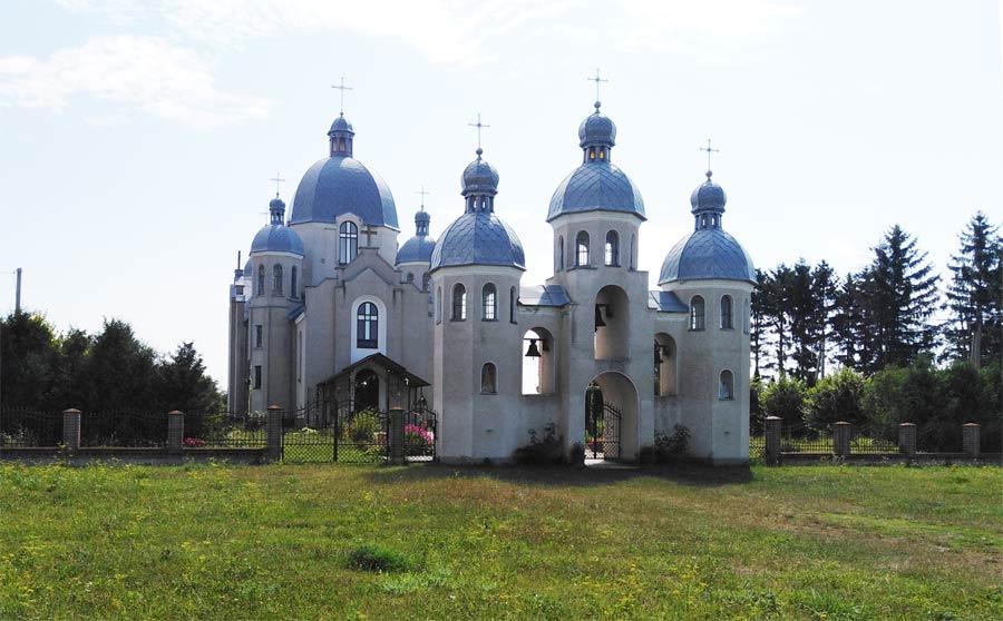 Церква у с. Яструбове Козівський район розповідь фото опис історія дата заснування